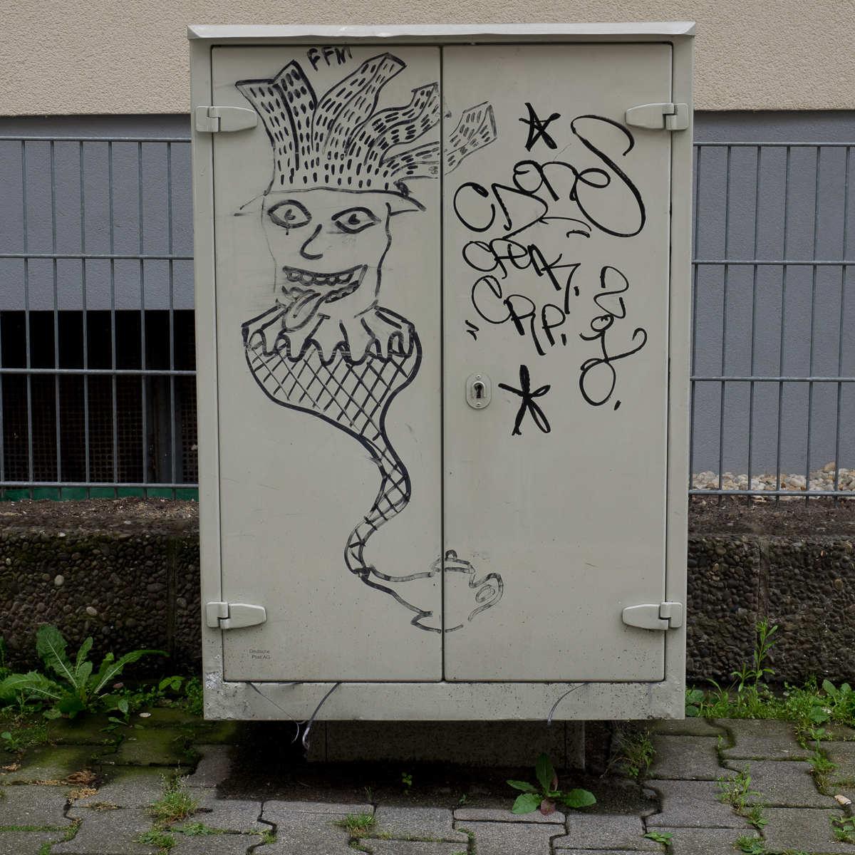 Frankfurt Streetart Bele