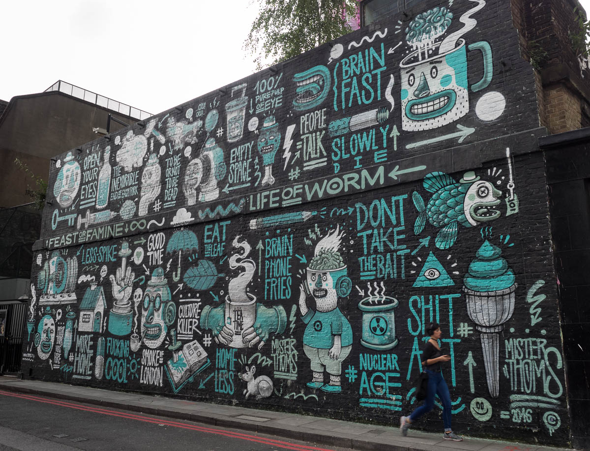 London Graffiti Shoreditch