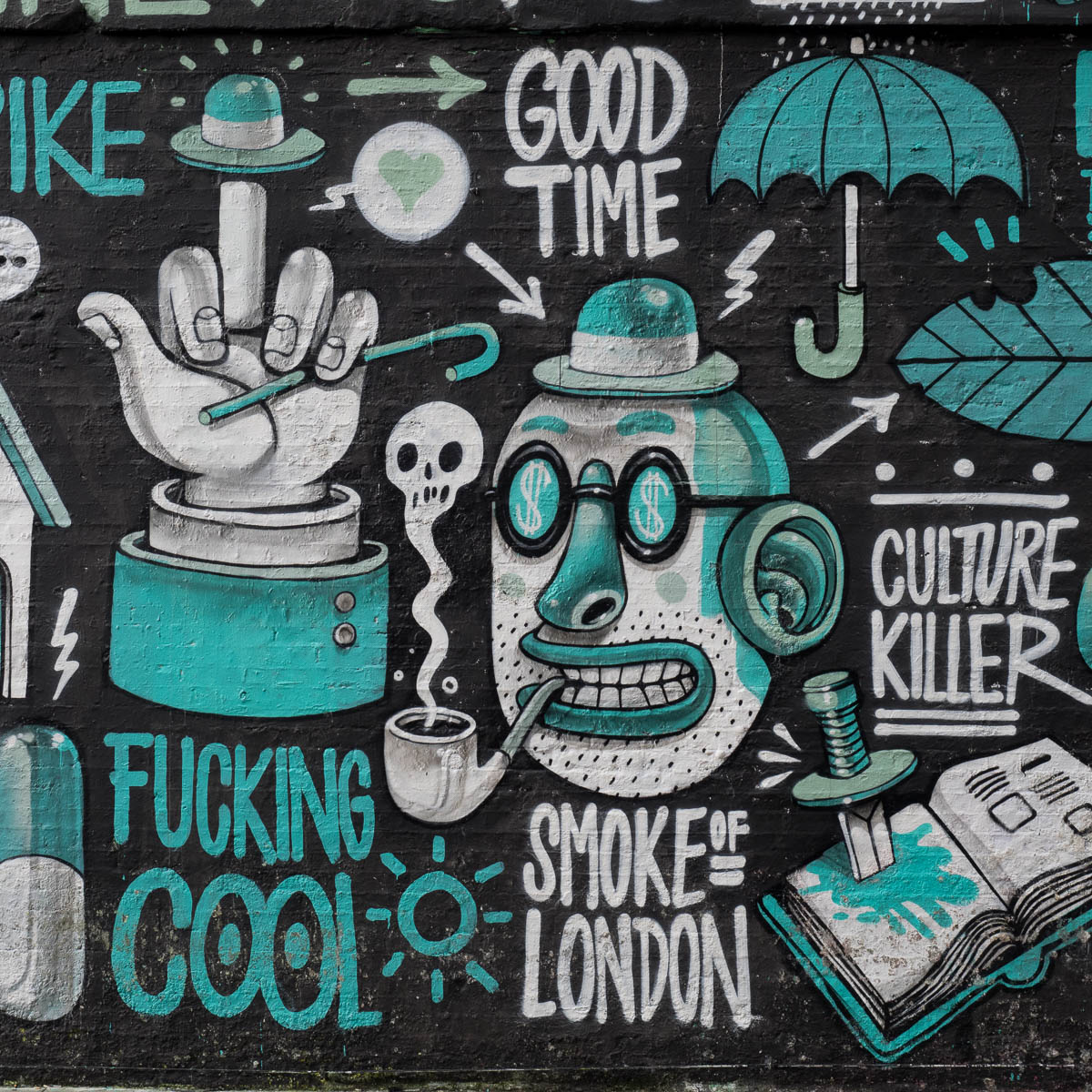 London Graffiti Shoreditch