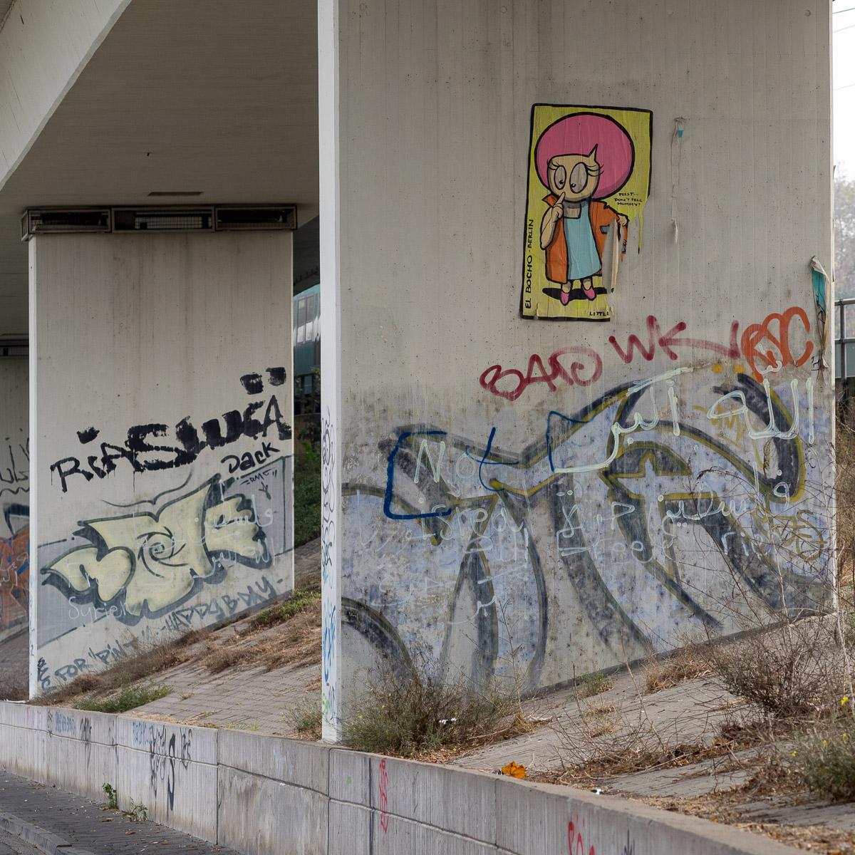 Graffiti Hedernheim El Bocho