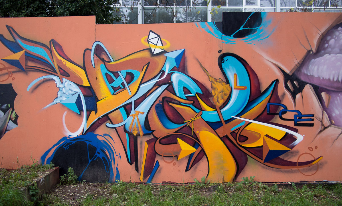 Graffiti Kontext Wiesbaden