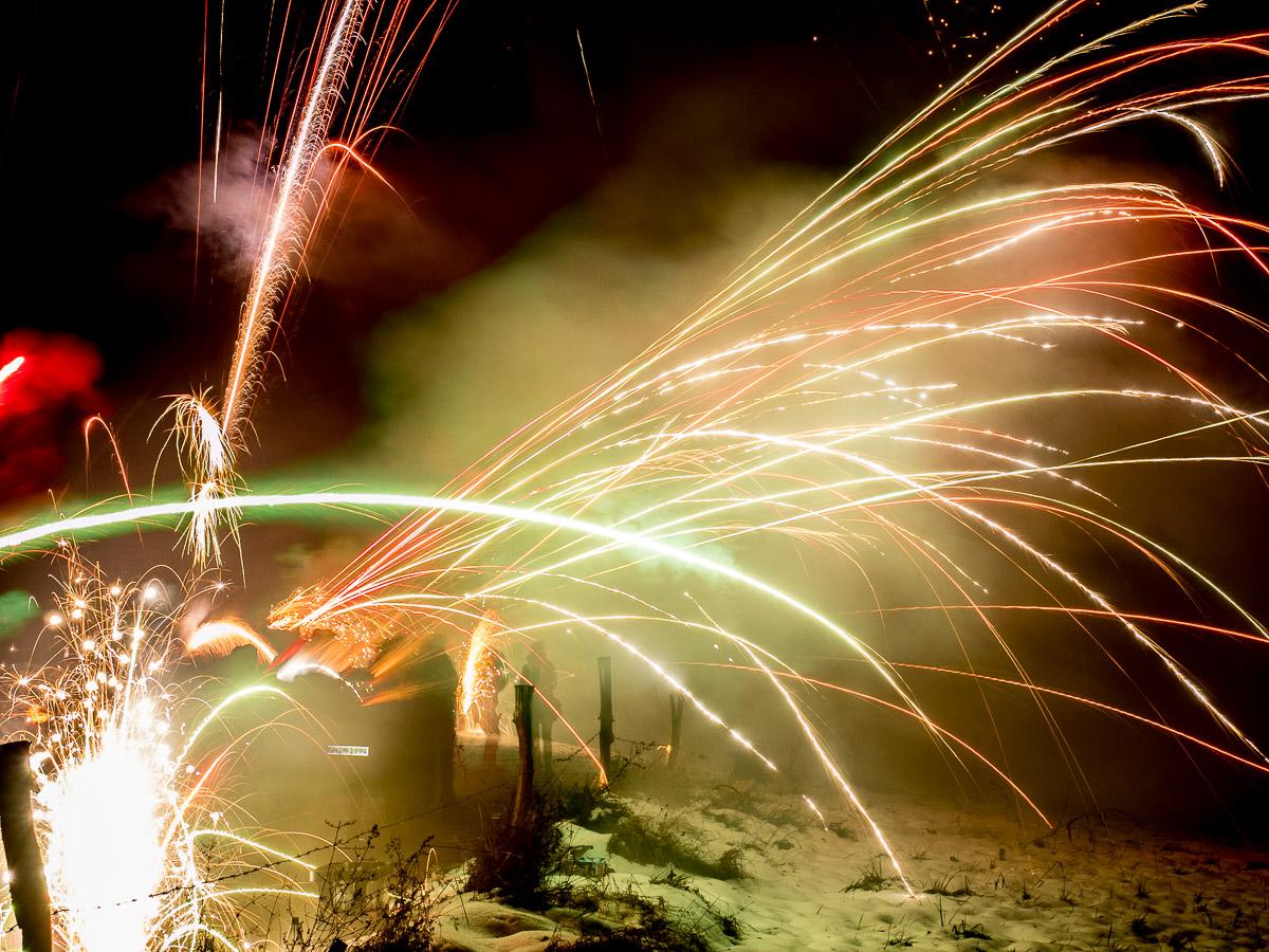 Sylvester Feuerwerk