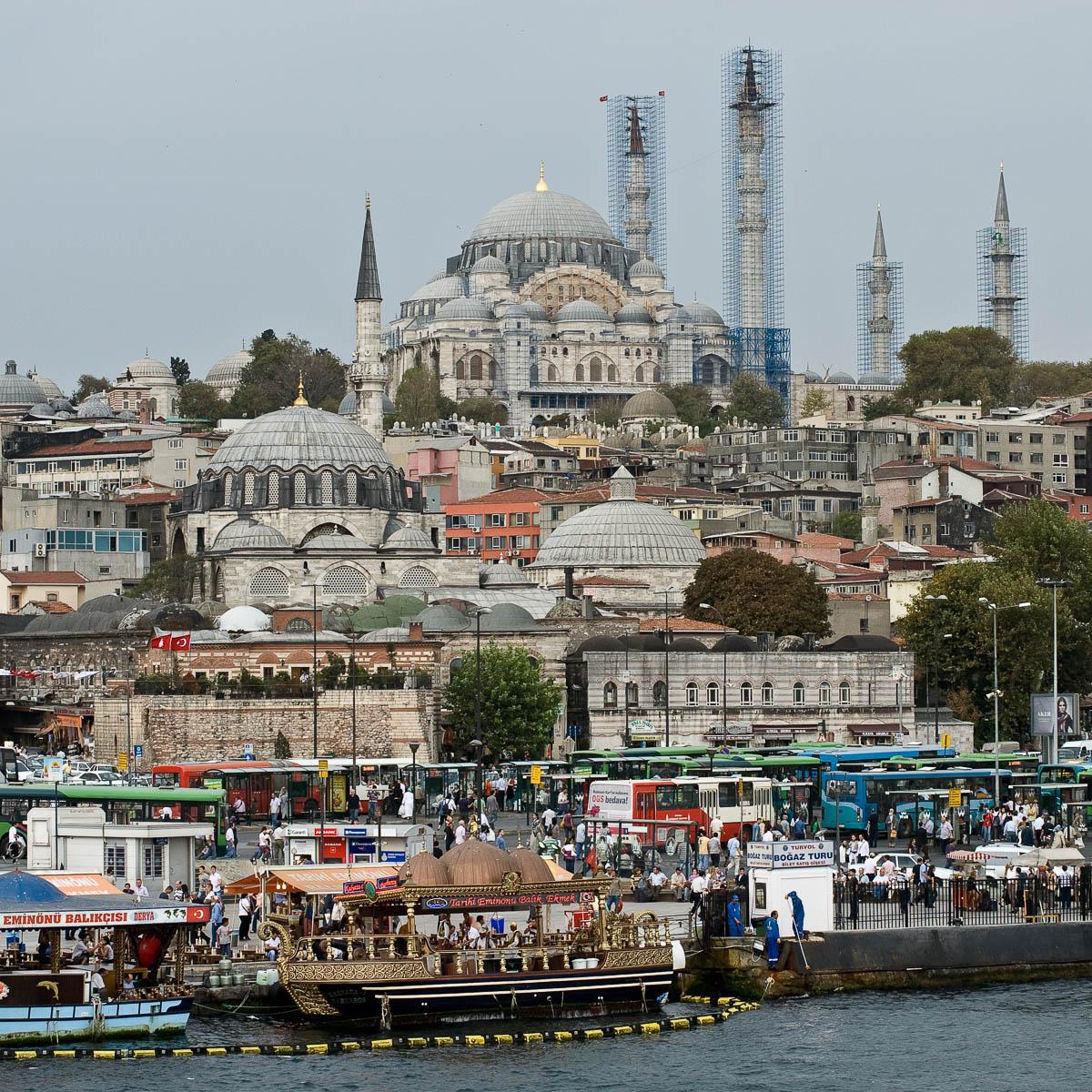 Istanbul - Sessel mit Aussicht
