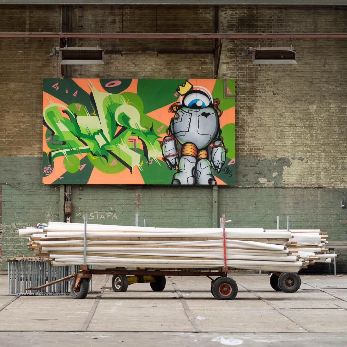 Amsterdam NDSM Werft Graffiti