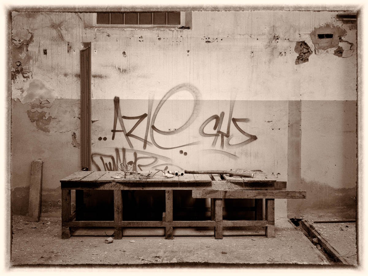 Papierfabrik Lost Places