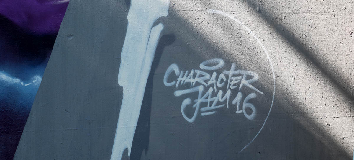 Graffiti Frankfurt Character Jam