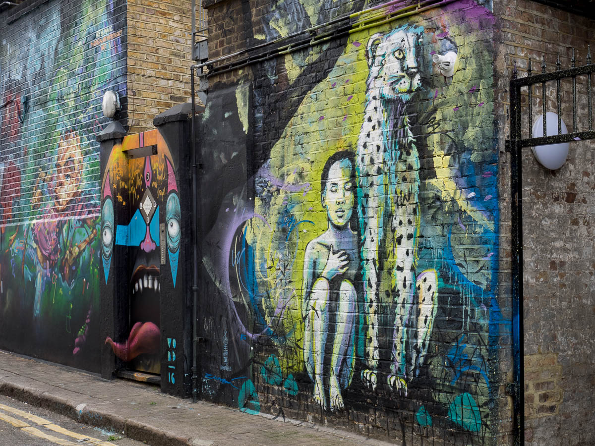 London Camden Graffiti