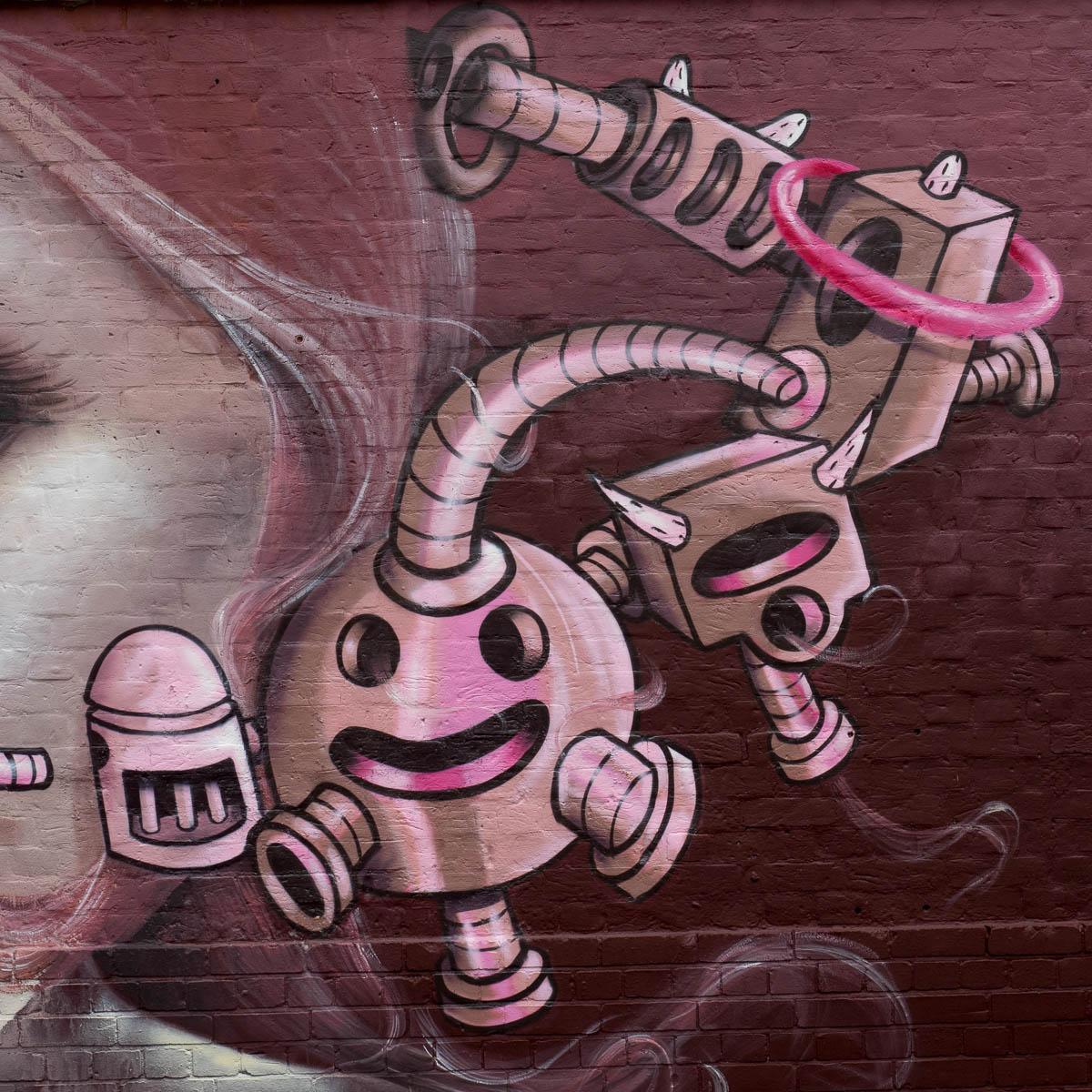 London Graffiti Camden Caro Pepe