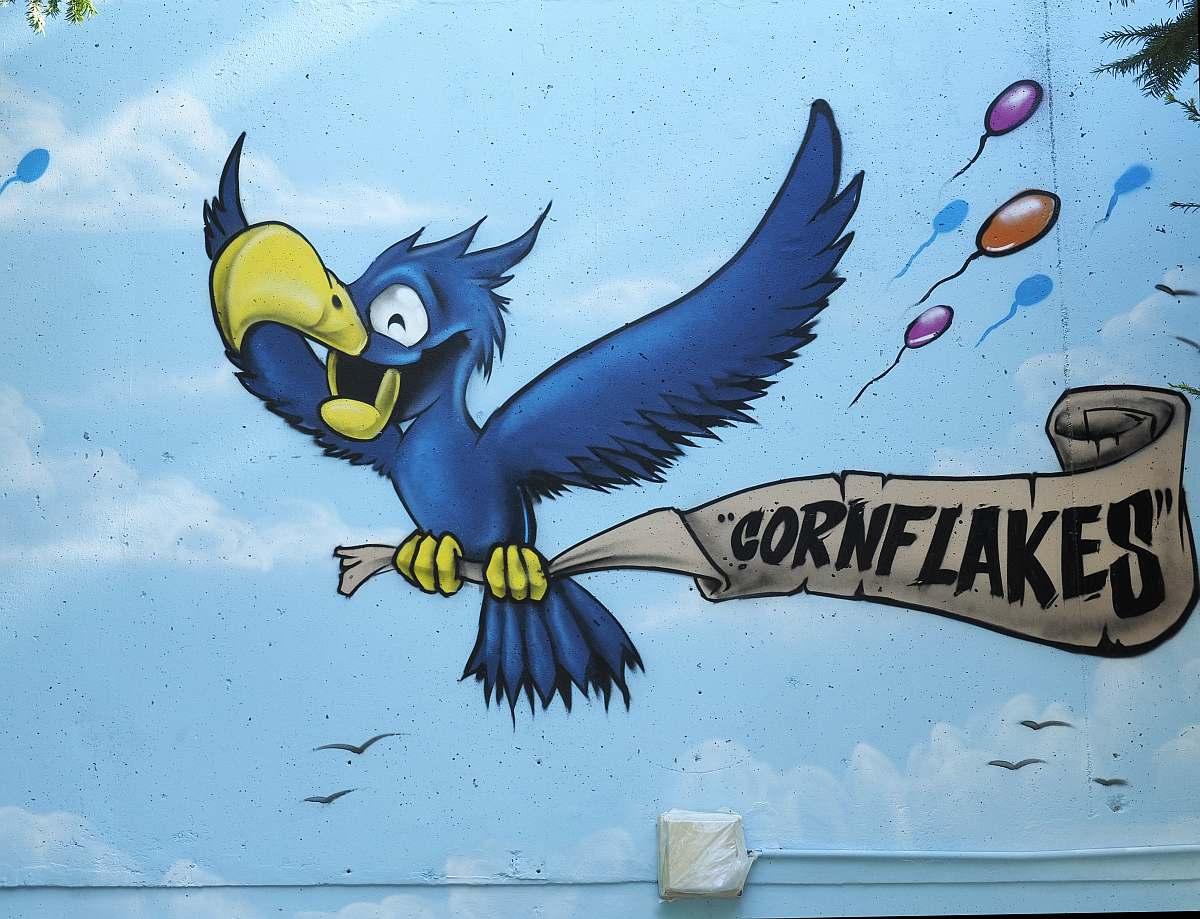Graffiti Schelmengraben Wiesbaden Cornflakes Crew RZM